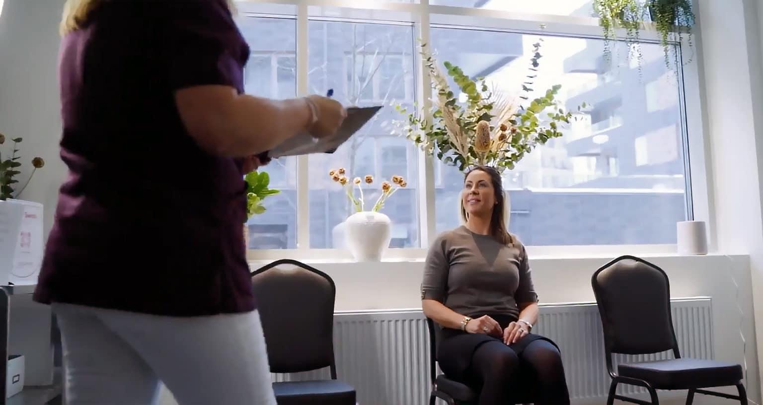Nya klinikens mottagning i Hammarby Sjöstad i Stockholm