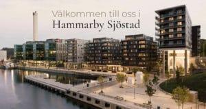 Timglashuset i Hammarby Sjöstad vid Plastikkirurgen Stockholms klinik