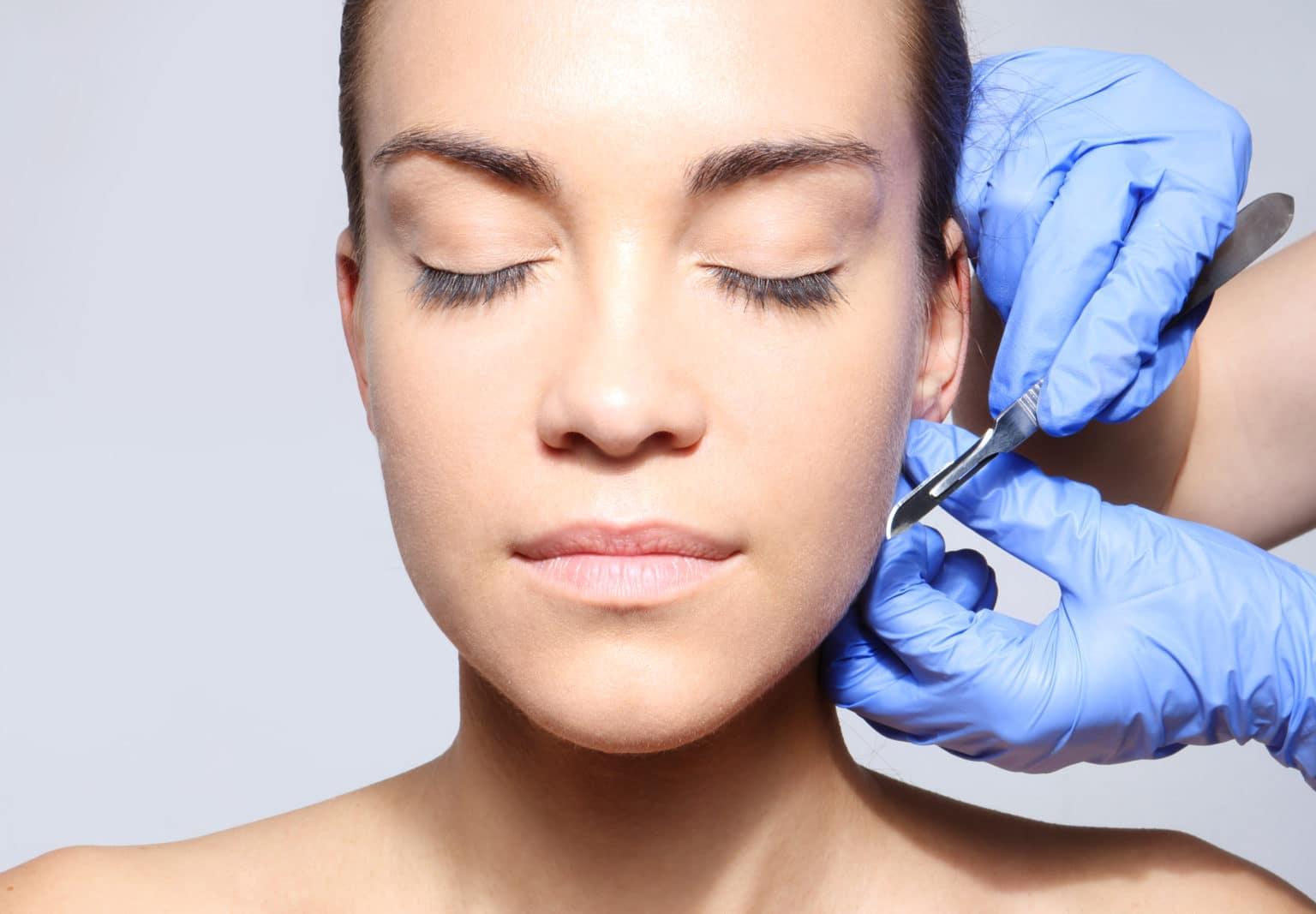 Operation av öron